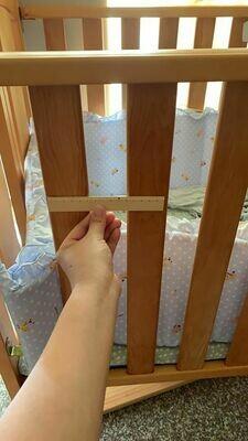 床欄的防護布