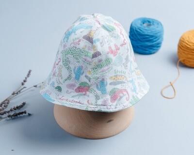 雙面漁夫帽-訂製 動物4-紗