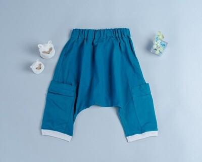 棉麻飛鼠褲-訂製 棉麻30