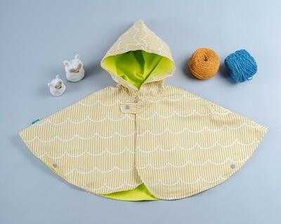 雙面雨衣斗篷-訂製 幾何22