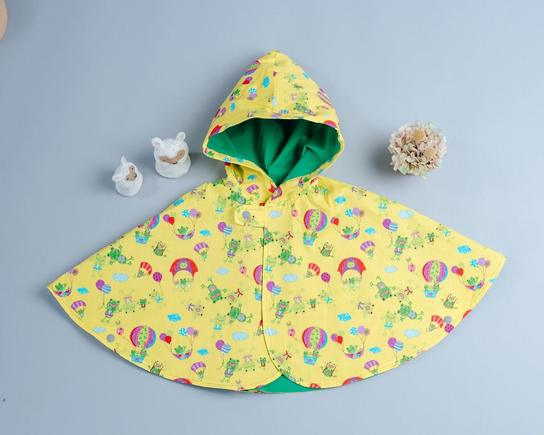 雙面雨衣斗篷-訂製 動物10