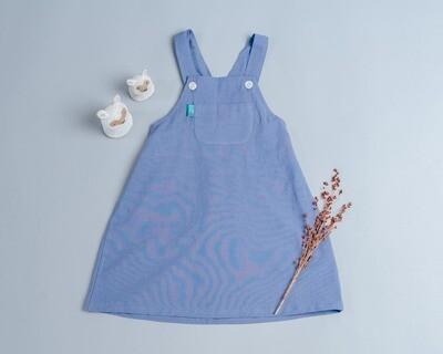包屁鬆緊吊帶改裙-訂製 棉麻17