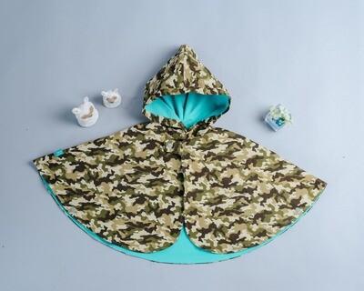 雙面雨衣斗篷-訂製 迷彩1-紗(限購三件)