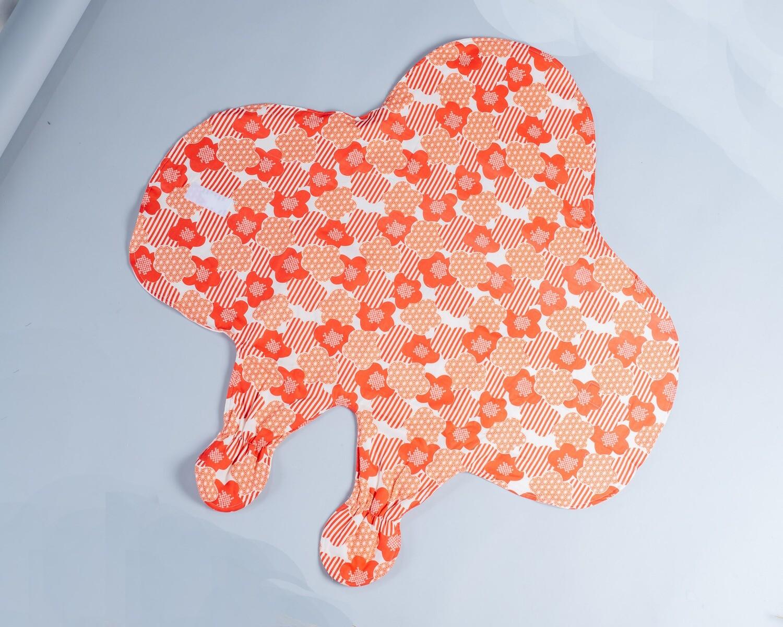 滑翔翼包巾-訂製 和風2vs粉色熊熊