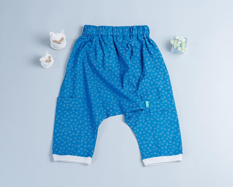 薄棉飛鼠褲-訂製 幾何6