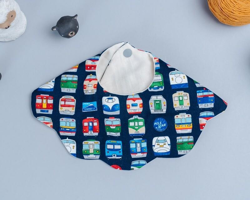 雲朵口水巾-