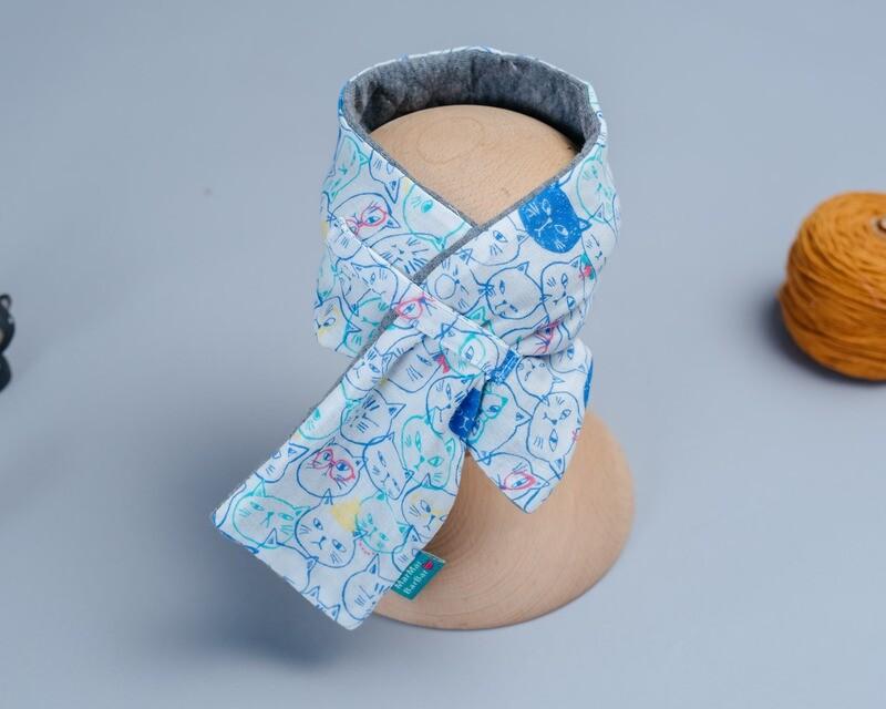 高厚3鋪棉圍巾(58-74cm)-訂製