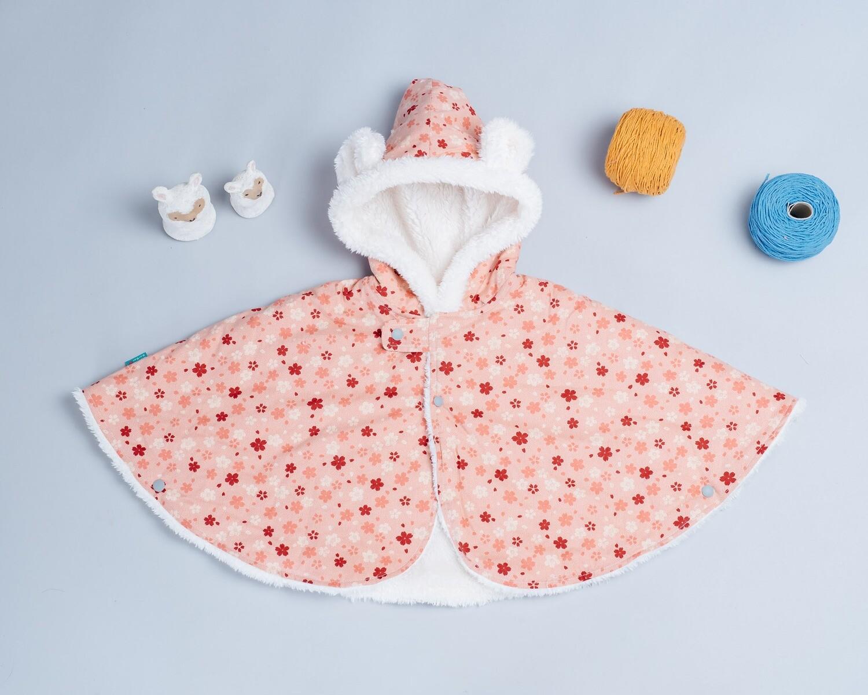 毛料斗篷-訂製 和風13vs雪花毛