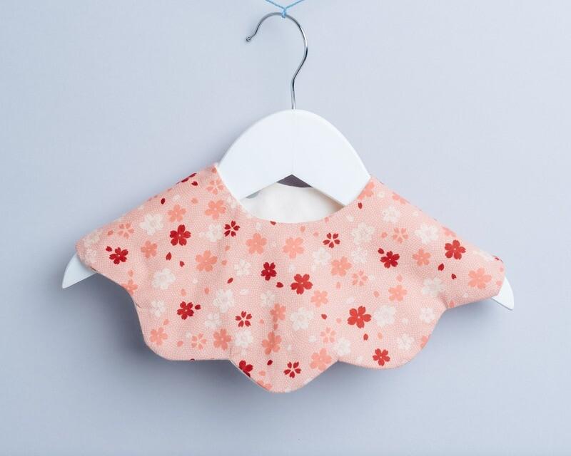 雲朵口水巾-訂製 和風13 六層紗 嬰兒 圍 兜 推薦