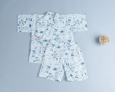 甚平和服-訂製 自然5-紗