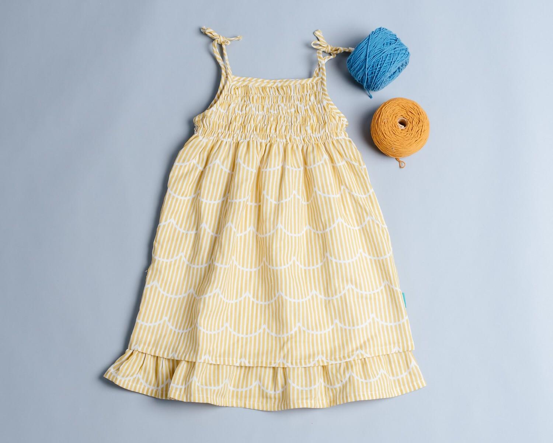 魚尾吊帶裙-訂製 幾何22
