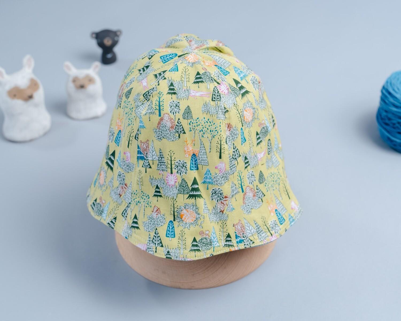 雙面漁夫帽-訂製 自然14