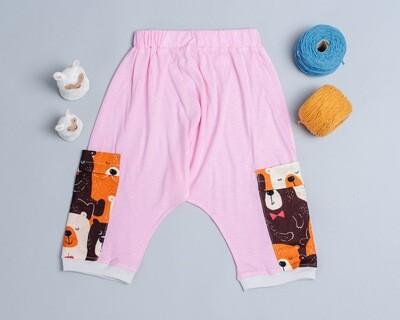 針織飛鼠褲-