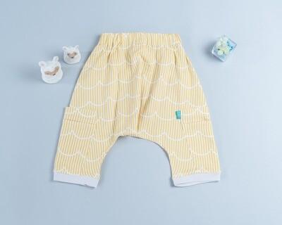 二重紗飛鼠褲-訂製 幾何22-紗