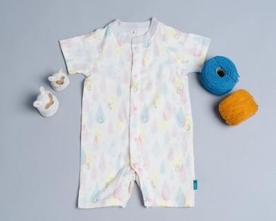 包屁連身衣(短袖)-訂製 動物18-紗