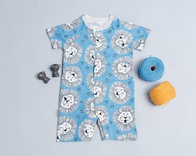 包屁連身衣(短袖)-訂製 動物1-紗