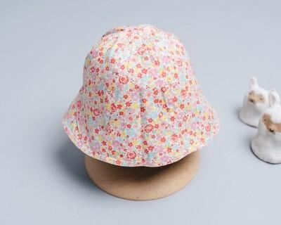 雙面漁夫帽-訂製 花28