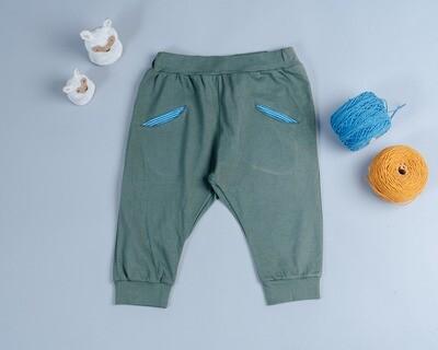 口袋怪獸八分褲-訂製 輕薄2