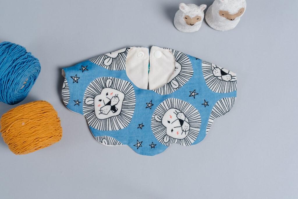 雲朵口水巾-訂製 動物1-紗