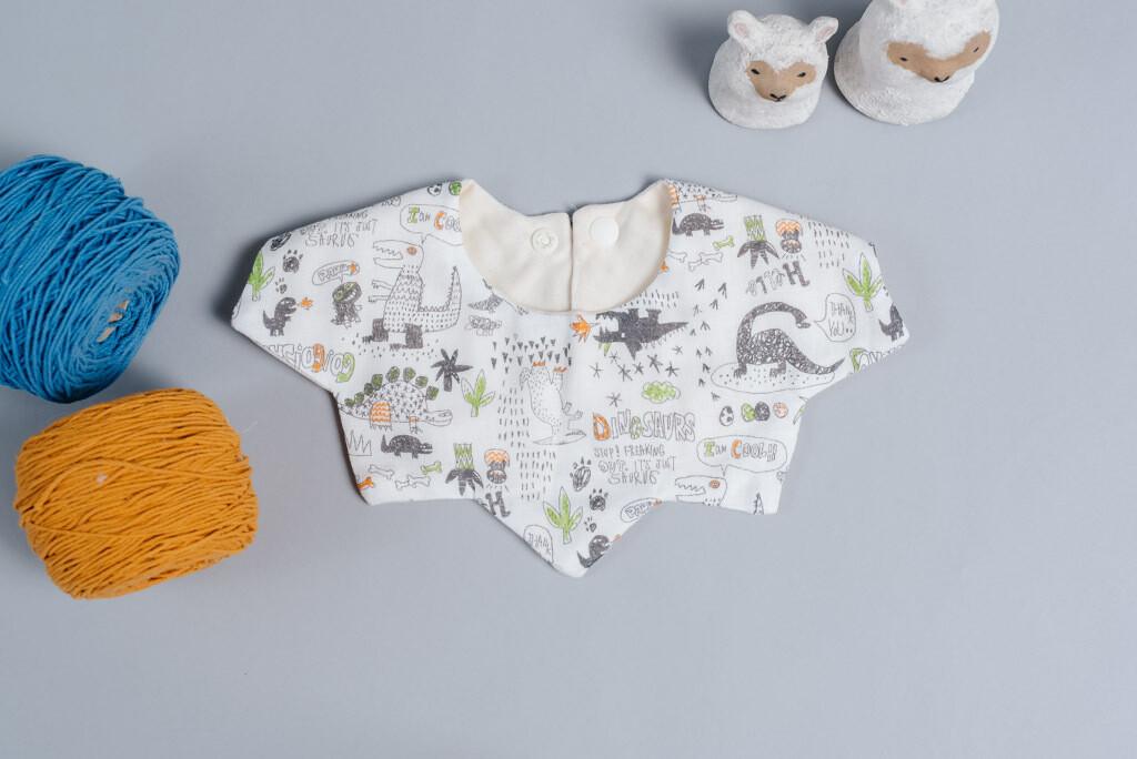 星星口水巾-訂製 自然5-紗