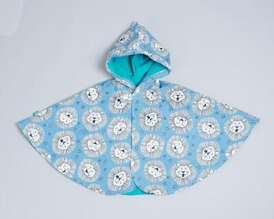 雙面雨衣斗篷-訂製 動物1-紗