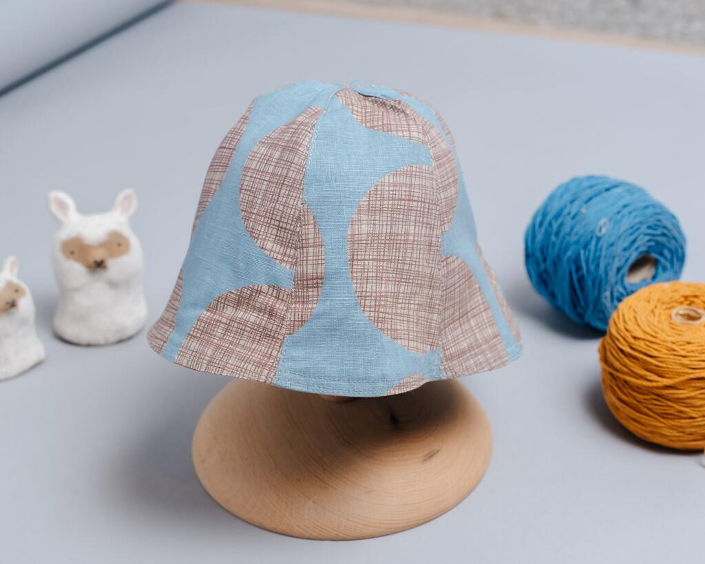 """雙面漁夫帽-""""現貨""""(45-47) 幾何12"""