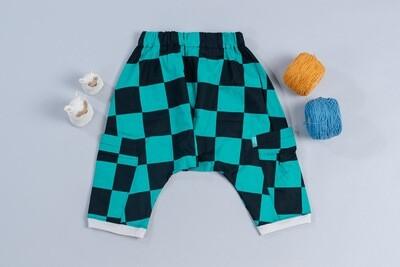 二重紗飛鼠褲-訂製 和風1
