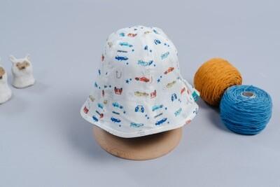 雙面漁夫帽-訂製 交通3
