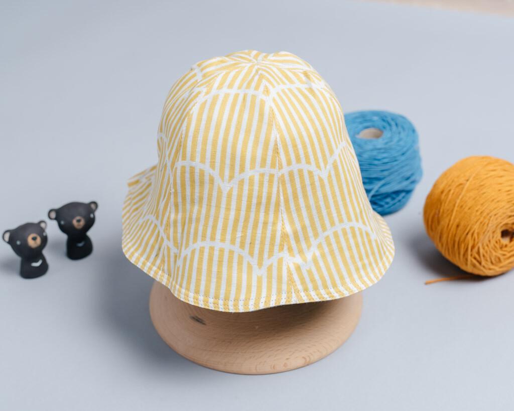 "雙面漁夫帽-""現貨"" 45-47cm 幾何22-紗"