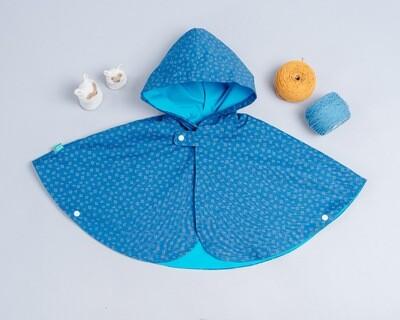 雙面雨衣斗篷-訂製 幾何6