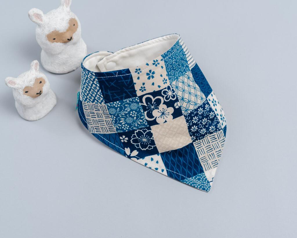 六層紗三角領巾-訂製 動物7-紗