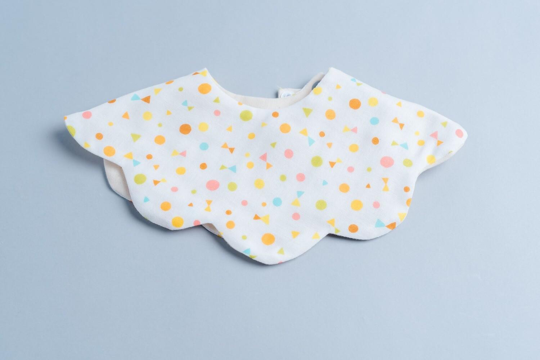 """雲朵口水巾-""""現貨"""" 六層紗 嬰兒 圍 兜 推薦"""