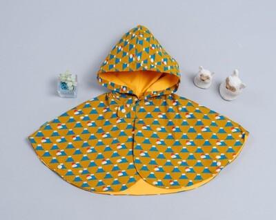 雙面雨衣斗篷-訂製 和風4