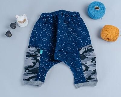 鋪棉飛鼠褲-訂製 高厚1