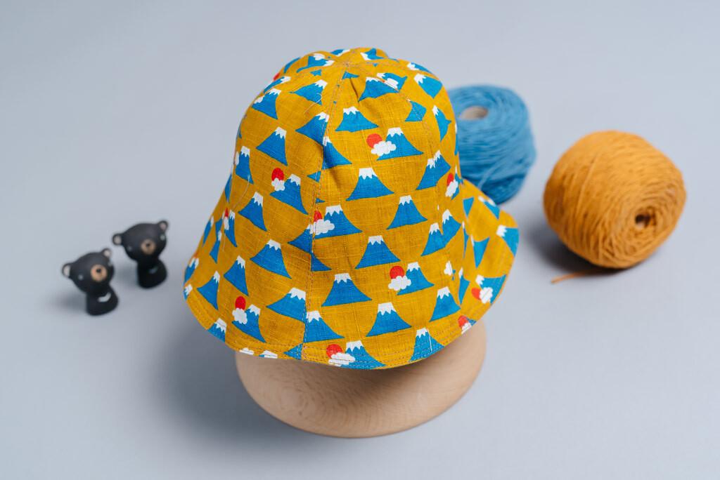 "雙面漁夫帽-""現貨""-(49-51cm) 和風4"