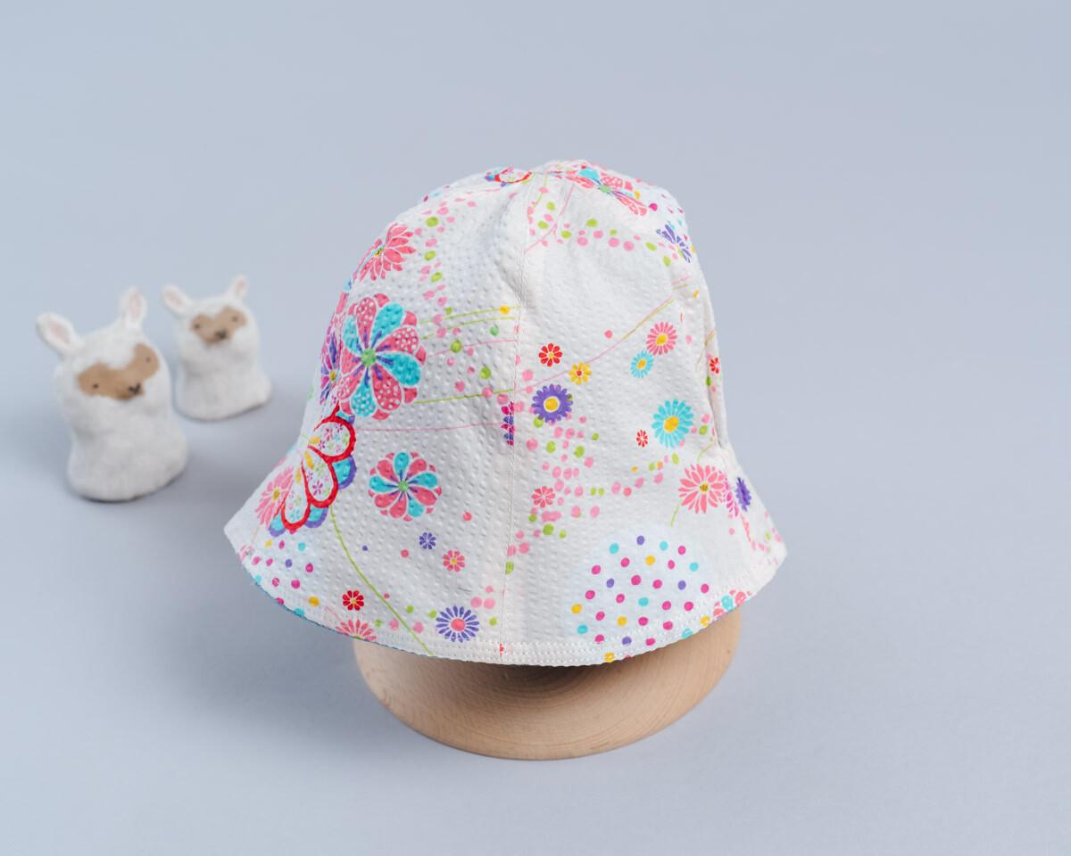"雙面漁夫帽-""現貨""  55-57cm 和風6"