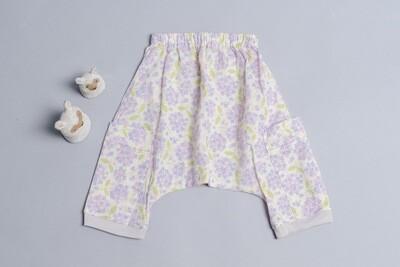 二重紗飛鼠褲-訂製 花11-紗