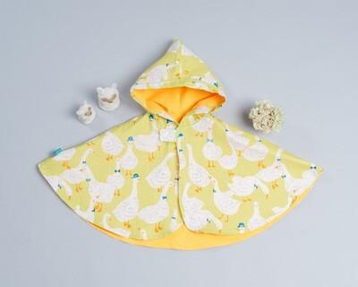 雙面雨衣斗篷-訂製 動物15-紗