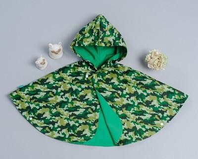 雙面雨衣斗篷-
