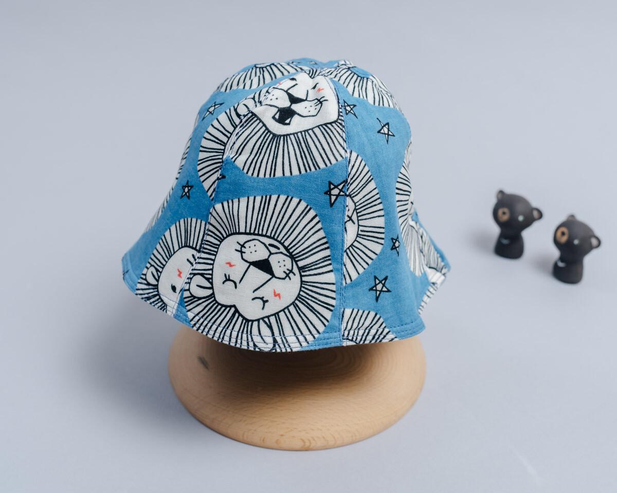 雙面漁夫帽-訂製 動物1-紗