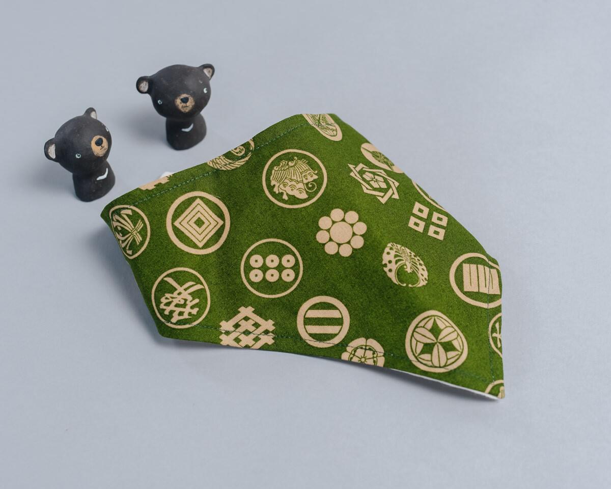 六層紗三角領巾-訂製 幾何12