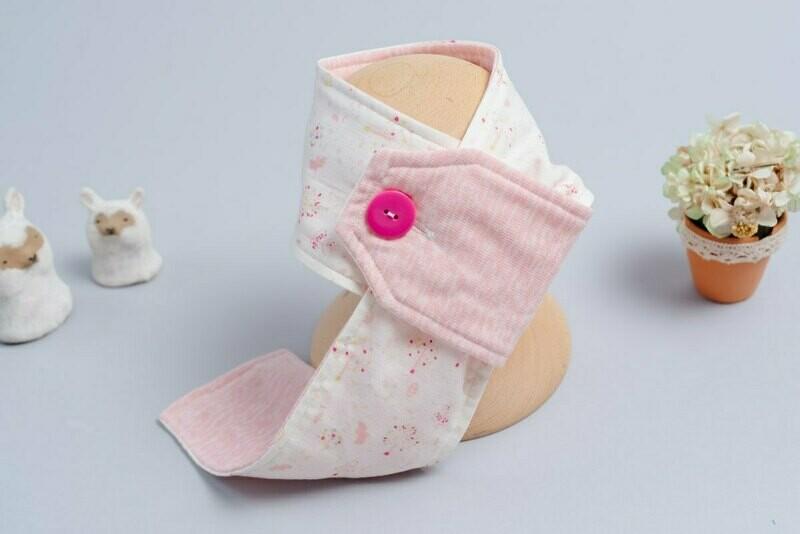 鈕扣圍巾(鋪棉)-訂製 自然7