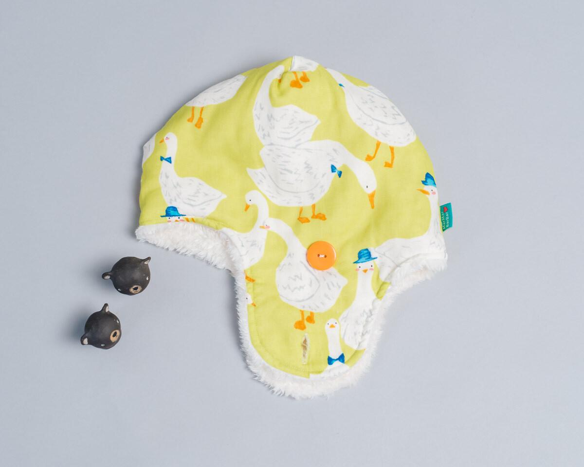 遮耳飛行帽(毛料)-訂製 動物15