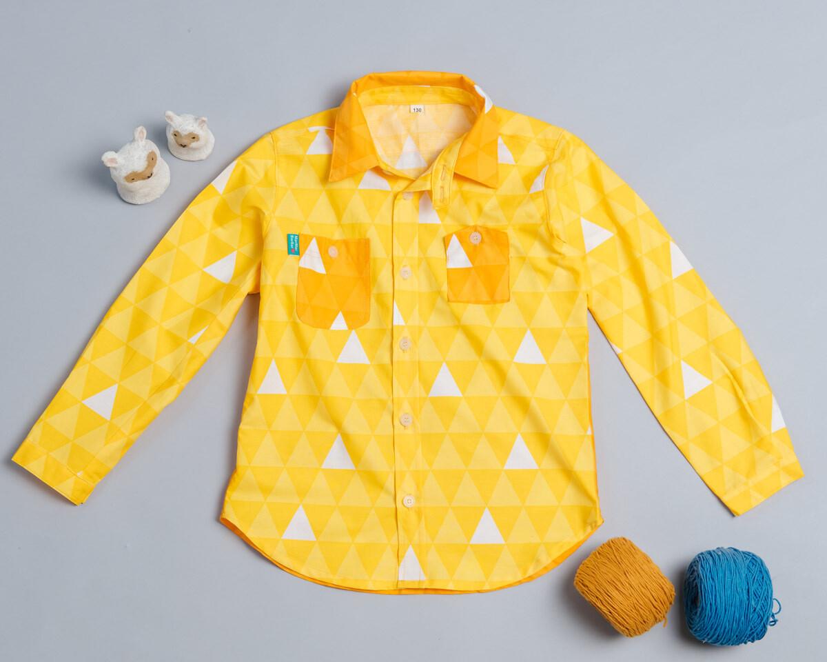 和風長袖襯衫-訂製 和風10
