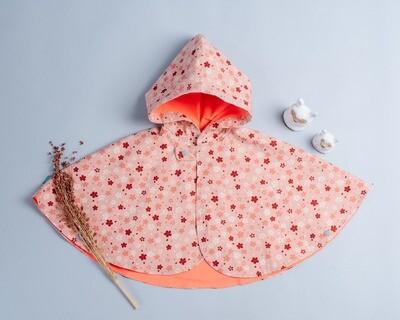 雙面雨衣斗篷-訂製 和風13