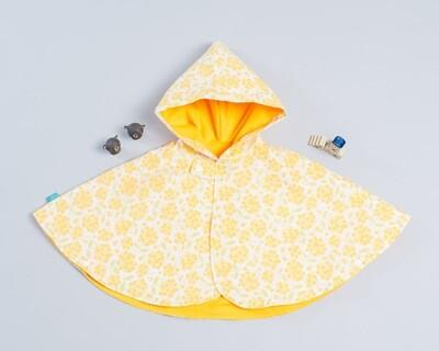 雙面雨衣斗篷-訂製 花10-紗