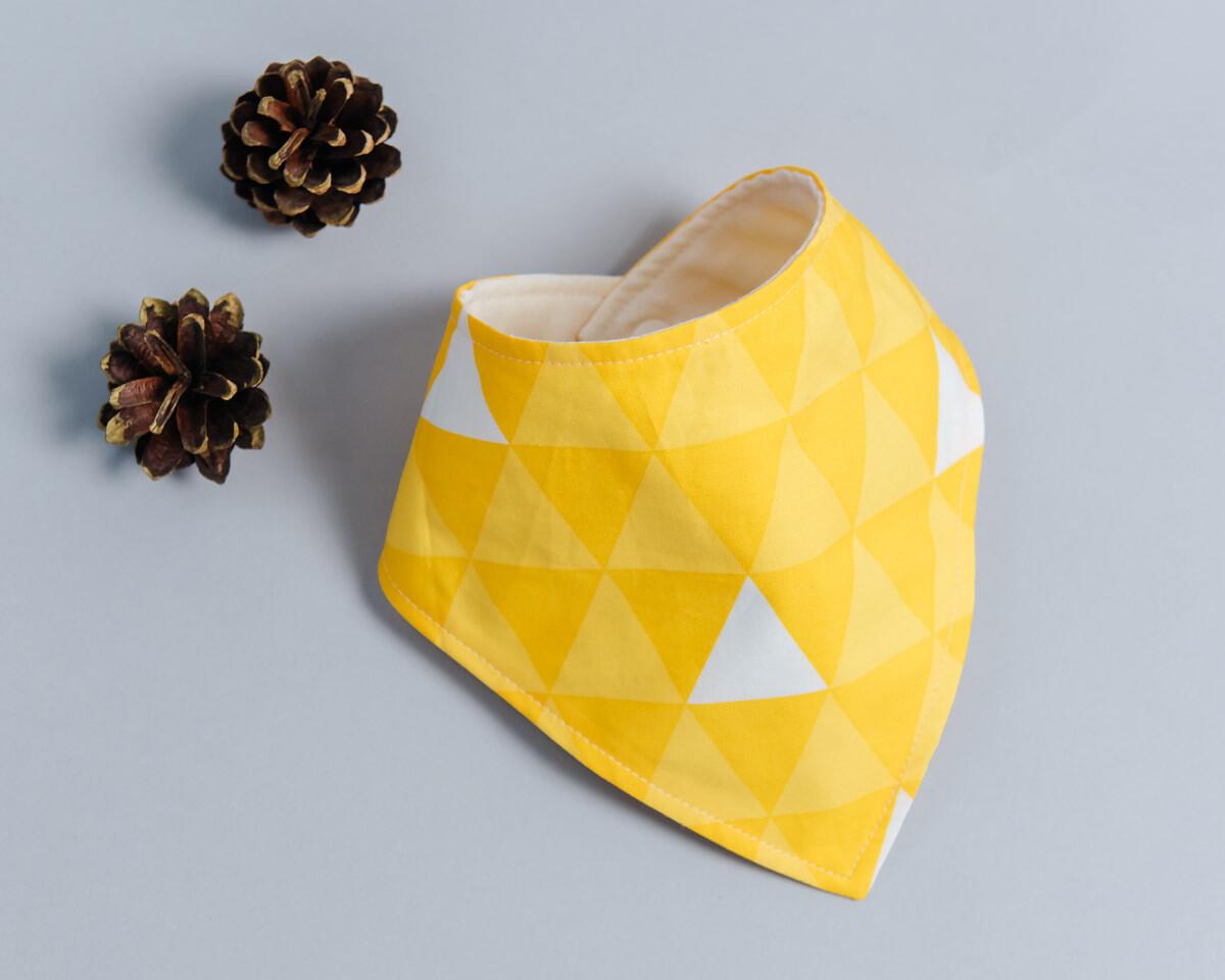 六層紗三角領巾-訂製 和風10