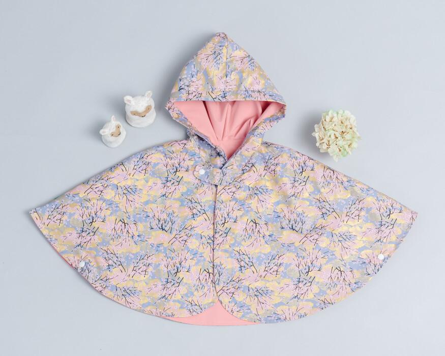 雙面雨衣斗篷-訂製 和風15