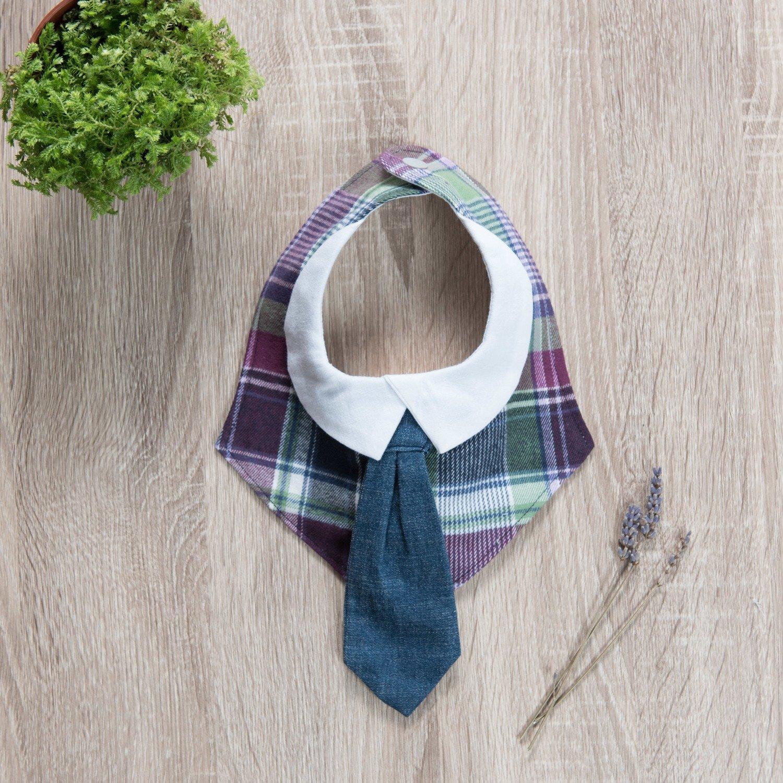 """可替換領帶口水巾-""""現貨"""" 蘇格蘭"""