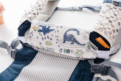 揹巾口水巾(全品牌適用)-訂製 需自選花色布料